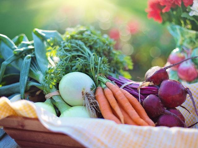 Des légumes bio